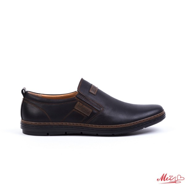 Pantofi Casual Barbati 90-8D# Black Mei