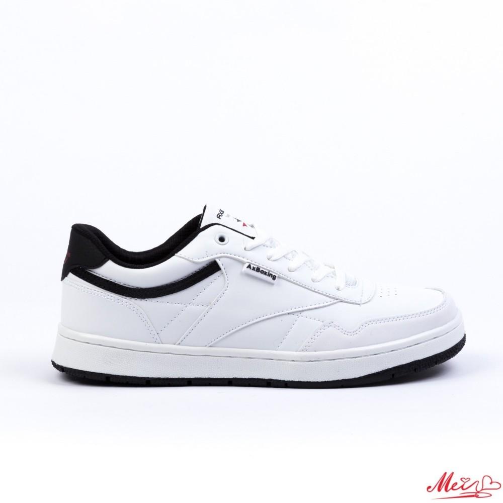 Pantofi Sport Barbati A8197-3# White-Black Mei