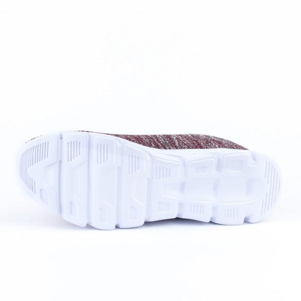 Pantofi Sport Barbati C117& Grey-Wine Mei