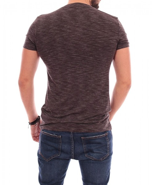 Tricou Barbat A9303 Dark Grey Andrid