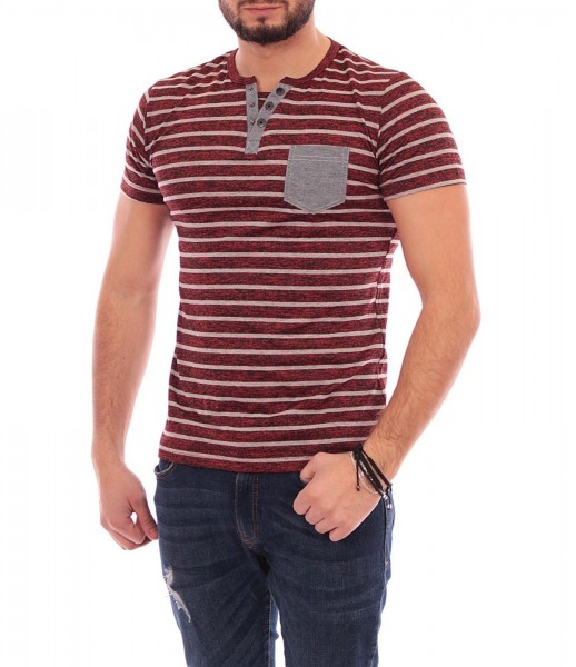 Tricou Barbat A9350 Red Andrid
