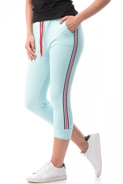 Pantaloni Dama 3/4 5997 Light Blue Mei