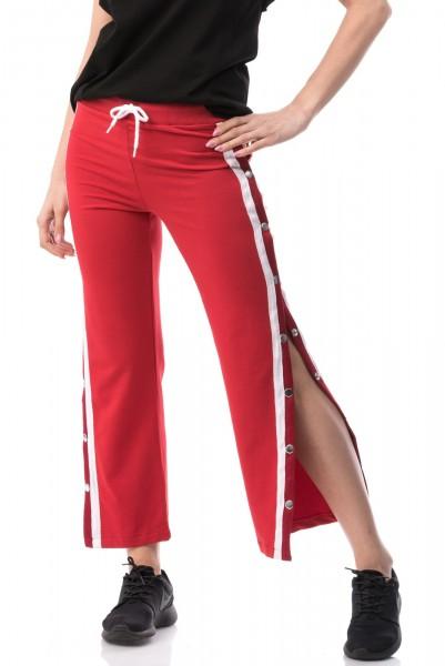 Pantaloni Dama cu Capse 6507 Red Mei