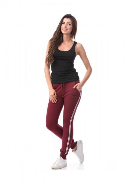 Pantaloni Dama 6773 Red Wine Mei