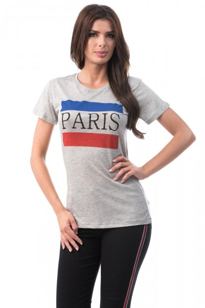 Tricou Dama PARIS 6774-3 Grey Mei