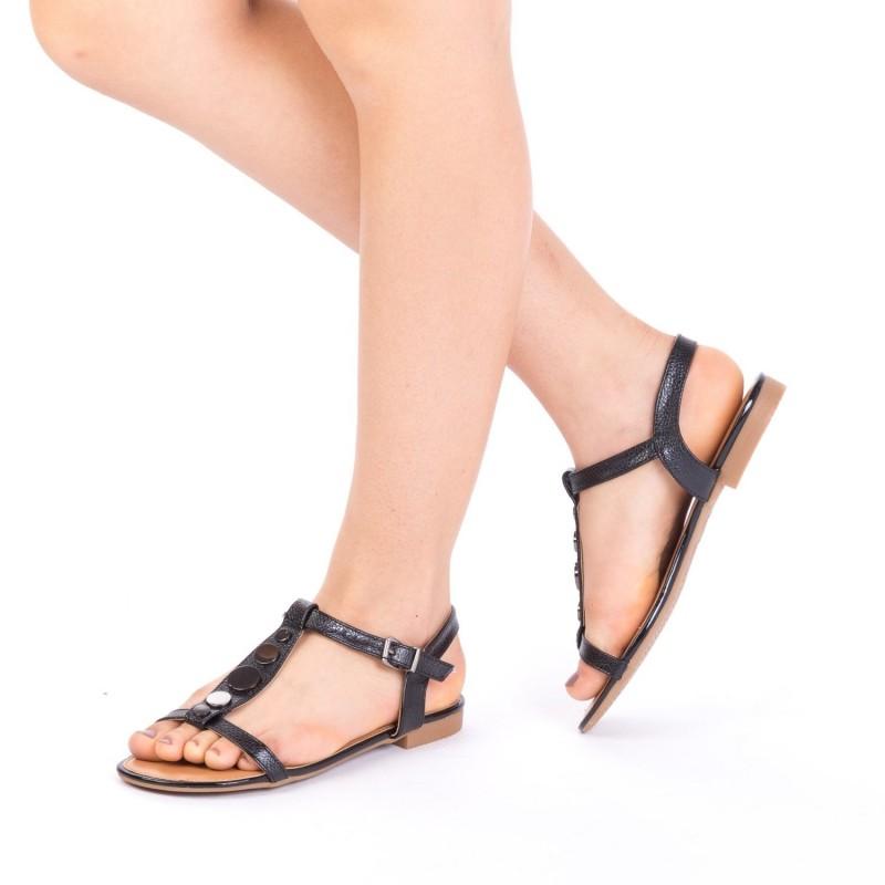 Sandale Dama CS2 Black Mei