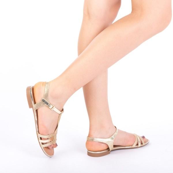 Sandale Dama CS3 Gold Mei