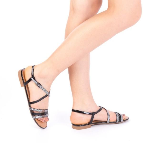 Sandale Dama CS5 Black Mei