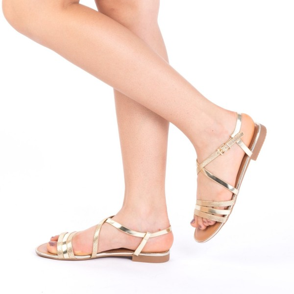 Sandale Dama CS5 Gold Mei