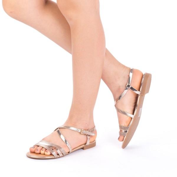 Sandale Dama CS5 Champagne Mei