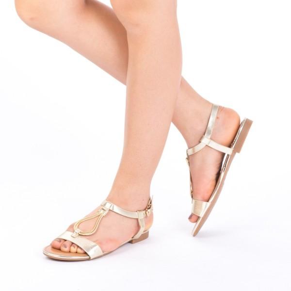 Sandale Dama CS6 Gold Mei