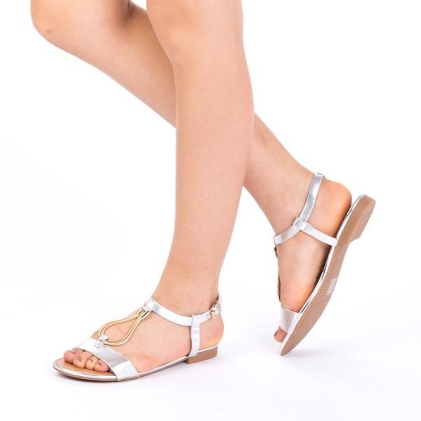 Sandale Dama CS6 Silver Mei