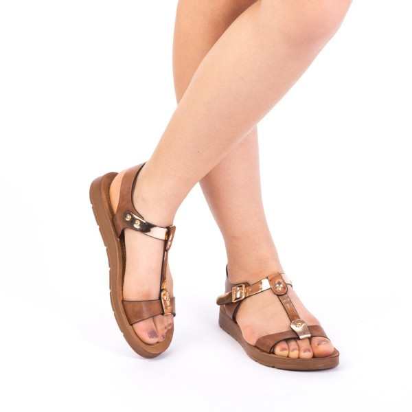 Sandale Dama CS7 Brown Mei