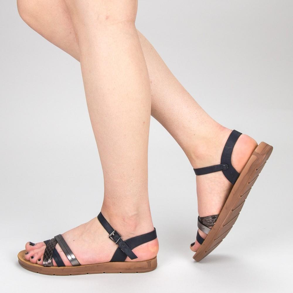Sandale Dama CS8 Black Mei