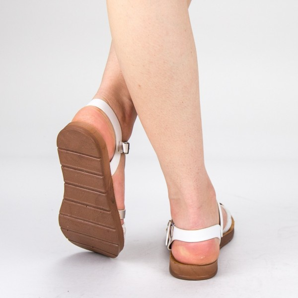 Sandale Dama CS8 White Mei
