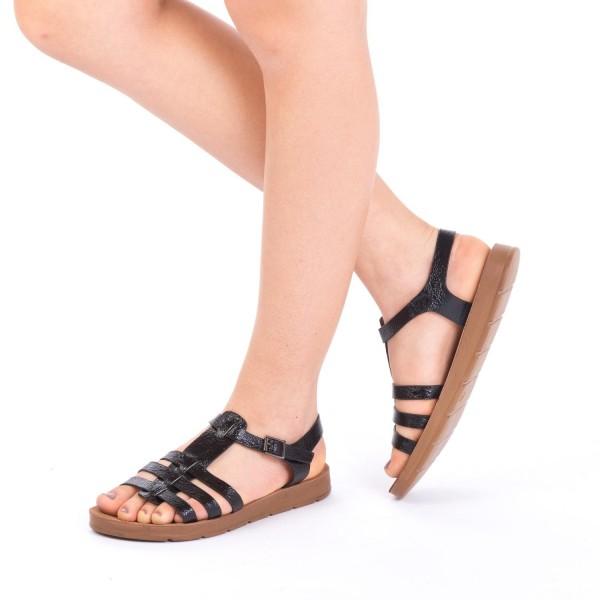 Sandale Dama CS9 Black Mei