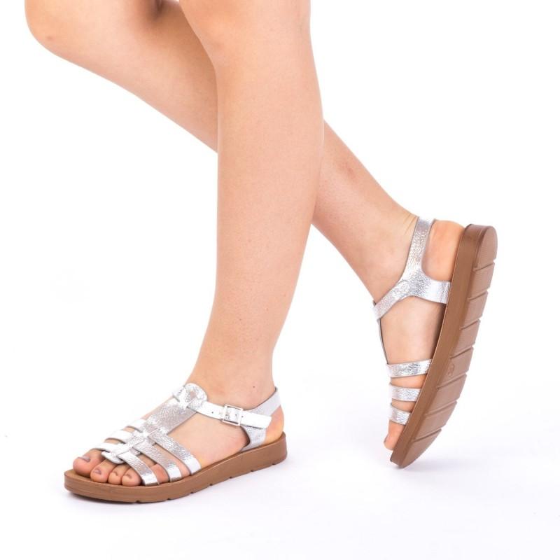 Sandale Dama CS9 Silver Mei