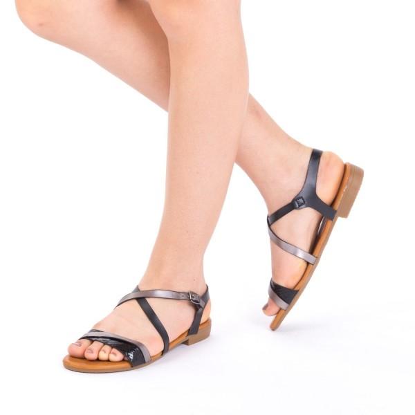 Sandale Dama JZF6 Black Mei