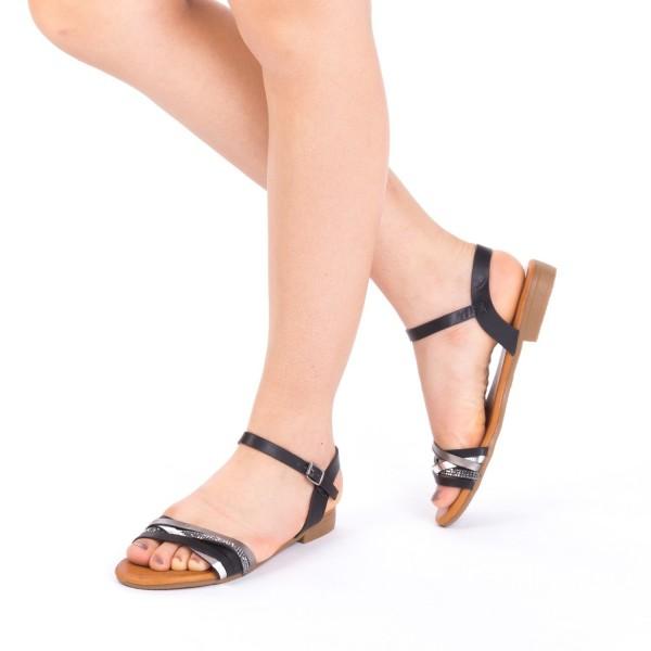Sandale Dama JZF7 Black Mei