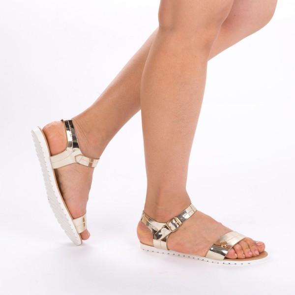 Sandale Dama LM107 Gold Mei