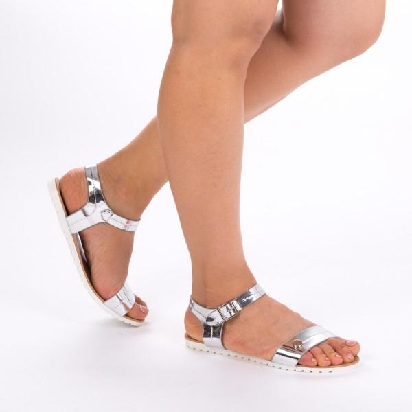 Sandale Dama LM107 Silver Mei