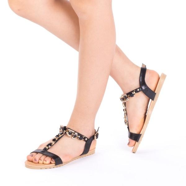 Sandale Dama LM232 Black Mei