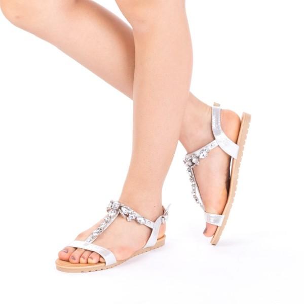 Sandale Dama LM232 Silver Mei