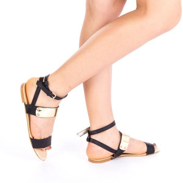 Sandale Dama OLJ11 Black Mei