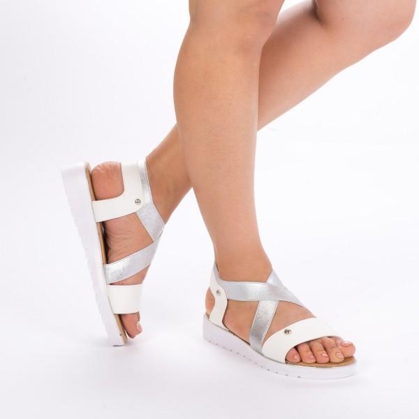Sandale Dama WS31 White Mei