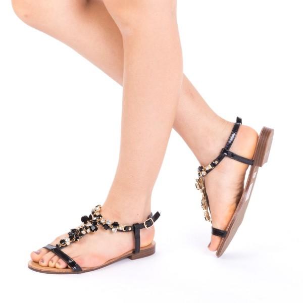 Sandale Dama WS90 Black Mei