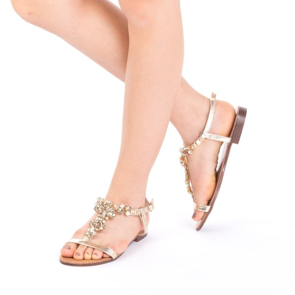 Sandale Dama WS90 Gold Mei