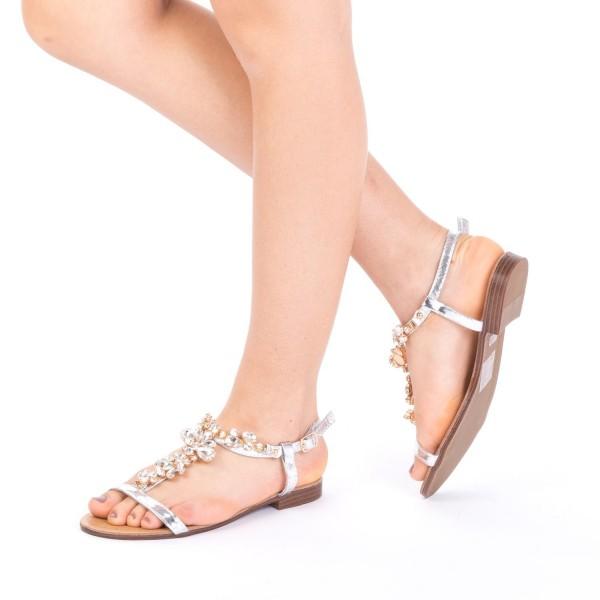 Sandale Dama WS90 Silver Mei