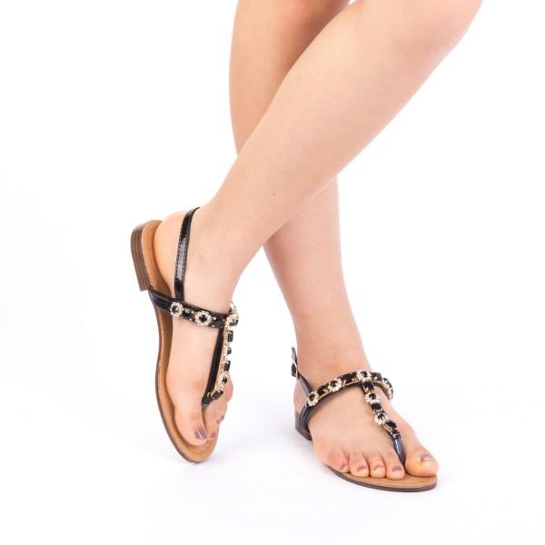 Sandale Dama WS91 Black Mei