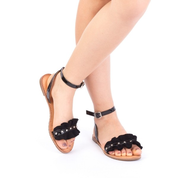 Sandale Dama XF10 Black Mei