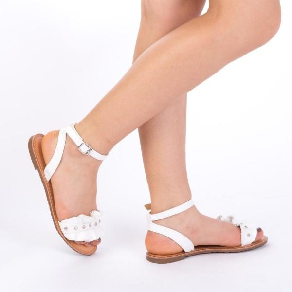 Sandale Dama XF10 White Mei