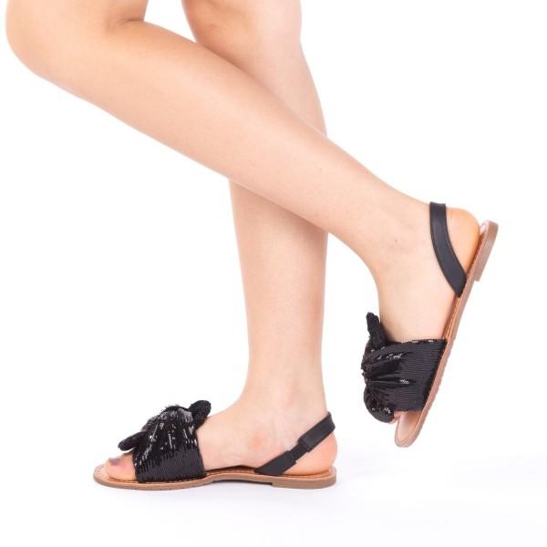 Sandale Dama XF7 Black Mei