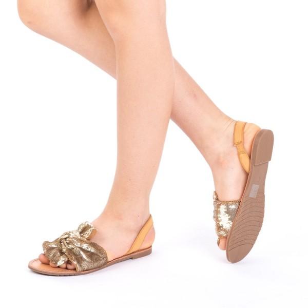 Sandale Dama XF7 Gold Mei