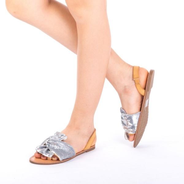 Sandale Dama XF7 Silver Mei