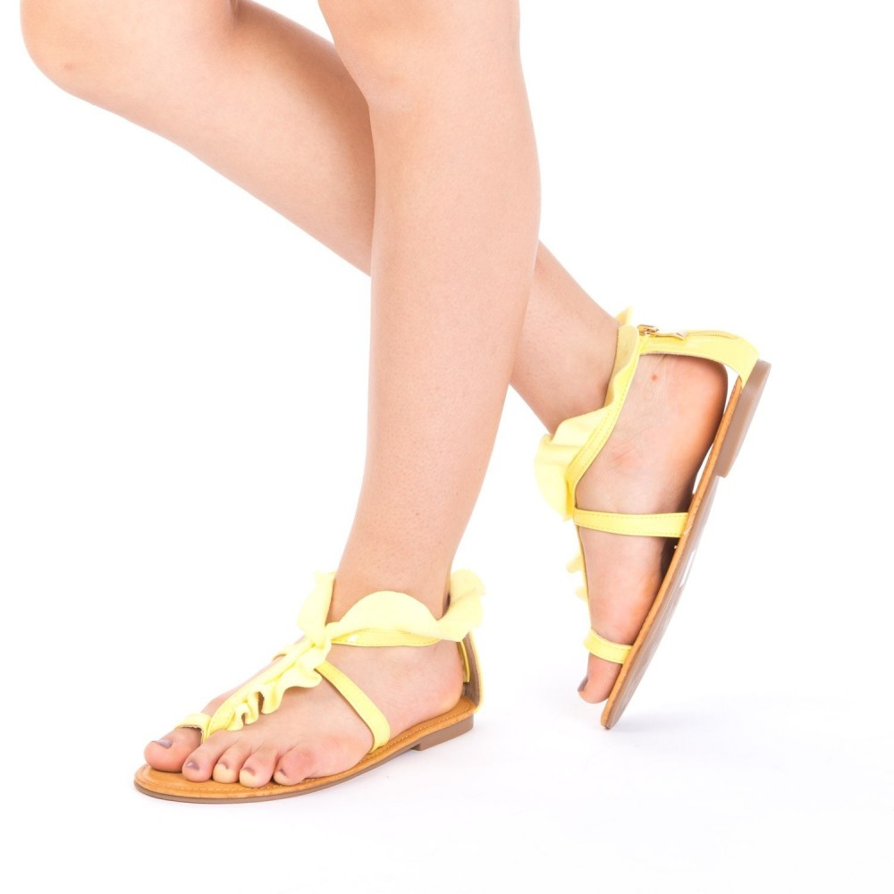 Sandale Dama XF8 Yellow Mei
