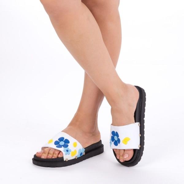 Papuci Dama TJ5 White Mei