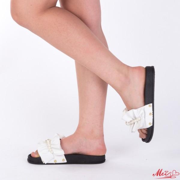 Papuci Dama TJ7 White Mei