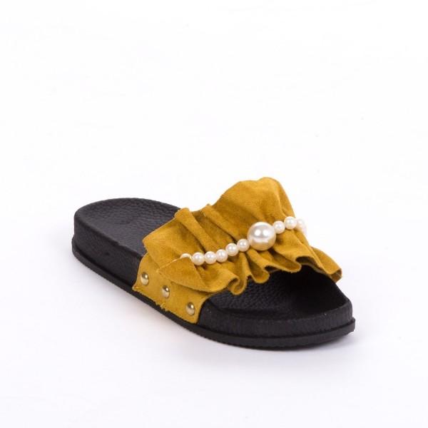 Papuci Dama TJ7 Yellow Mei