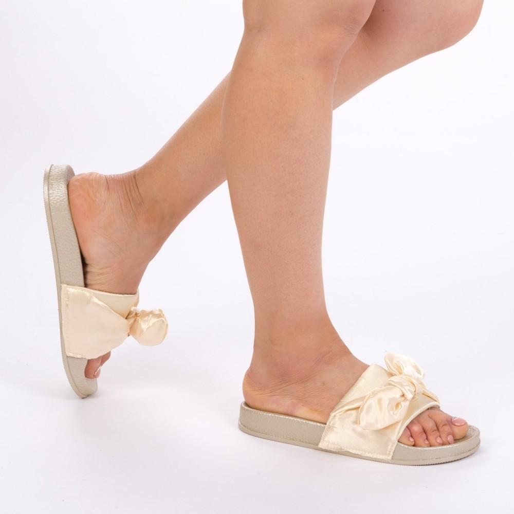 Papuci Dama WS68 Gold Mei
