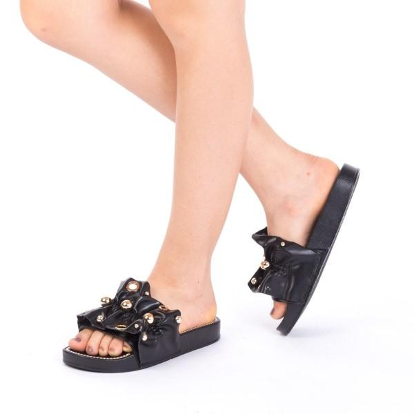Papuci Dama WS92 Black Mei