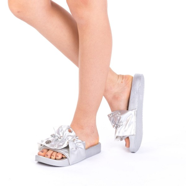 Papuci Dama WS92 Silver Mei