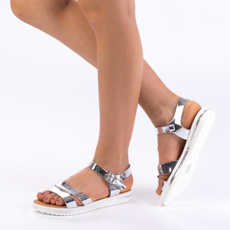 Sandale Dama WT159 Silver Mei
