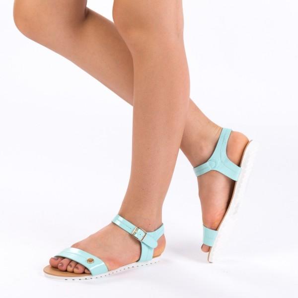 Sandale Dama LM107 Light Blue Mei