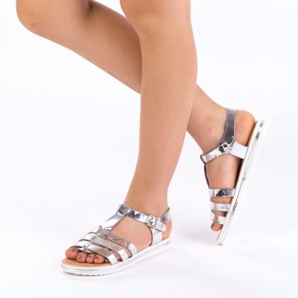 Sandale Dama LM161 Silver Mei