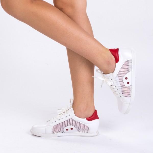 Pantofi Sport Dama 1682 White Mei