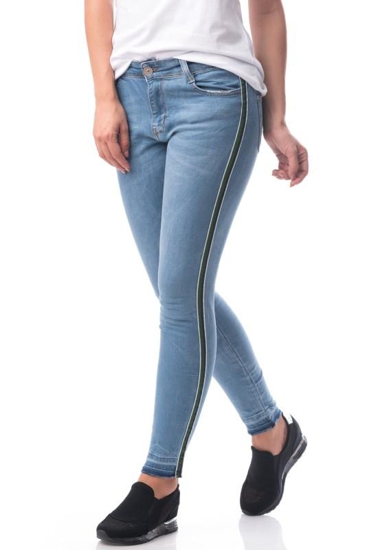 Jeans Dama 7012 Albastru (109) Adrom
